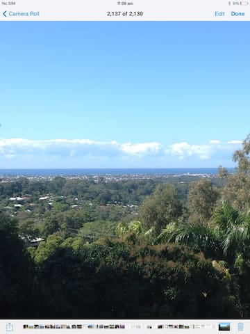 Buderim Mtn: Beautiful 1 bed flat with great views - Buderim - Pis