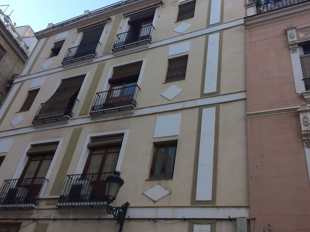 Center of Valencia - FAST WiFi - Terraza - Balcony