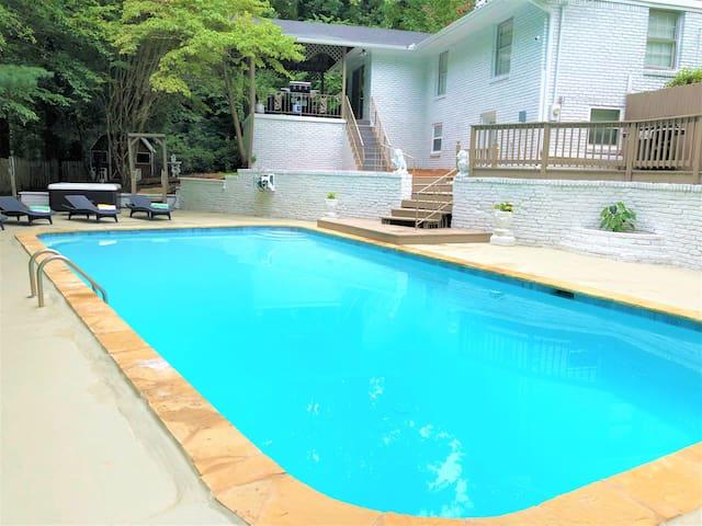 Summer Sale Dialdr 5bdrm 7beds Privatepool Hottub Houses For
