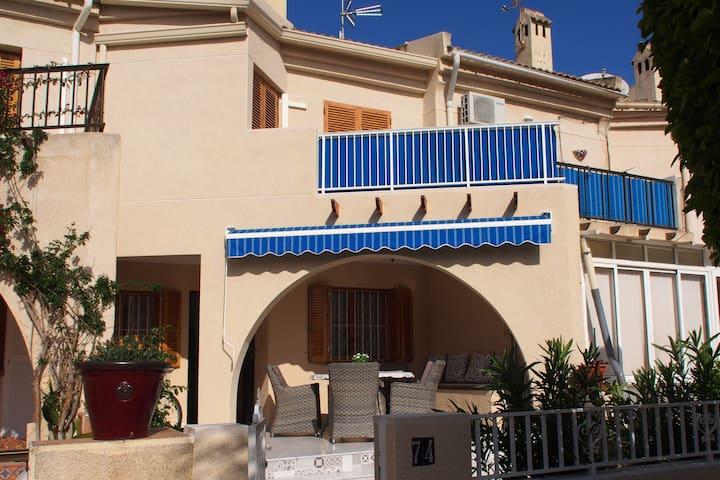 Ferienhaus am  Strand von Rebollo - Wifi