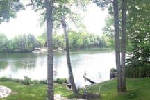 Petit paradis avec vue sur le lac