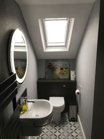 Private ensuite toilet at Room at the Top