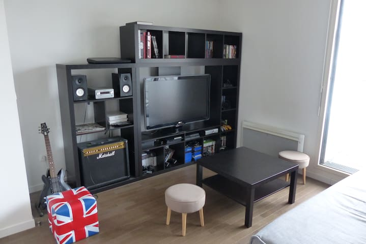 Live like a local! Studio close to metro station - Malakoff - Byt