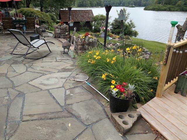 Relaxing patio