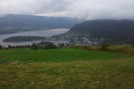 Peacefully with a beautiful view - Fagernes - Apartament