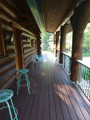 Deck under cover