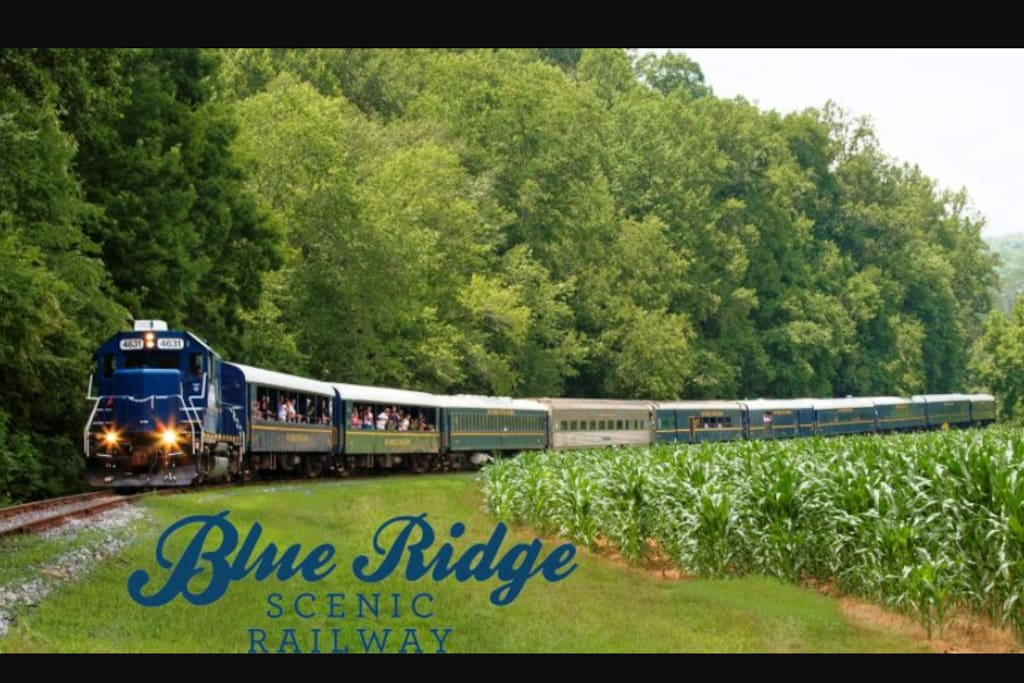 Blue ridge is a great little town you do not want to miss. It is a 20 minute drive from the house