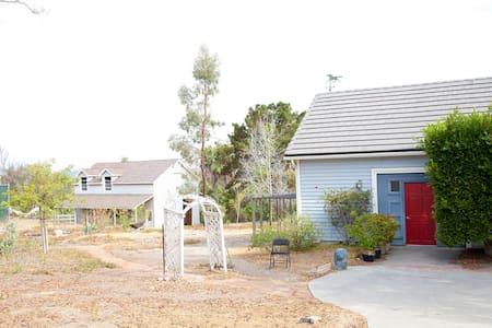 Del Mar Race Garden home w tennis court on 2 acres
