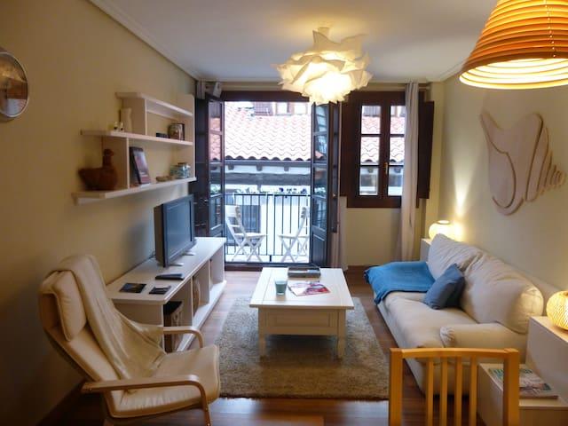 Bonito apto. en el Casco Antiguo - Hondarribia - Apartment