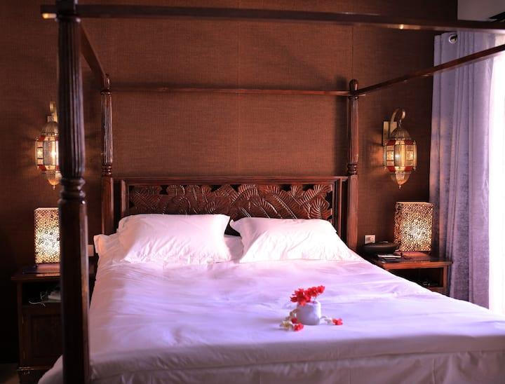 SeaFun Villa#102 Suite Delux Queen Bed & Sea View