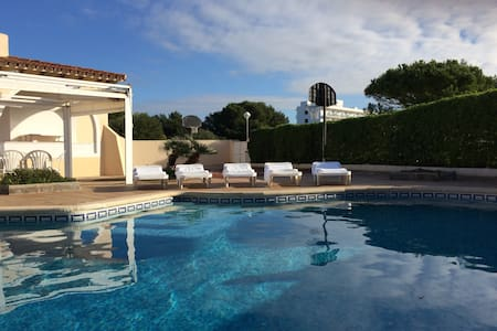 Villa with pool - 2min to beach, basketball court - Ciutadella de Menorca - Ev