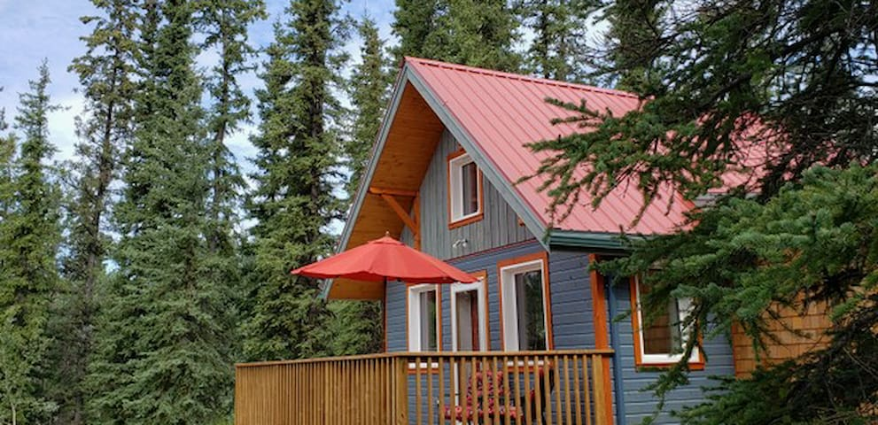 Timber-Tops House. Home away from home.