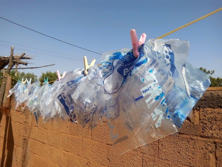 Notre activité de recyclage du plastique.