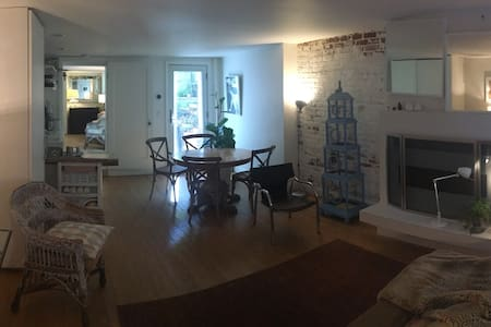 Elegant Ground Floor Garden Apartment - Brooklyn - Apartment