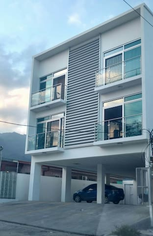 Private bedroom in a cozy apartment! - San Pedro Sula - Leilighet