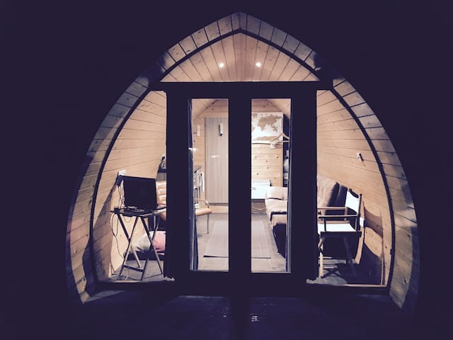 The Pod @ Bancran School:Glamping in The Sperrins