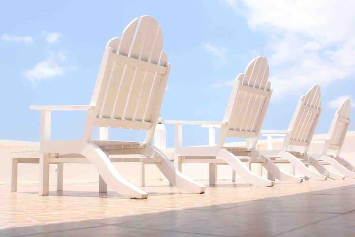 Buenavista Beach & Surf Room B w/ Air Conditioning