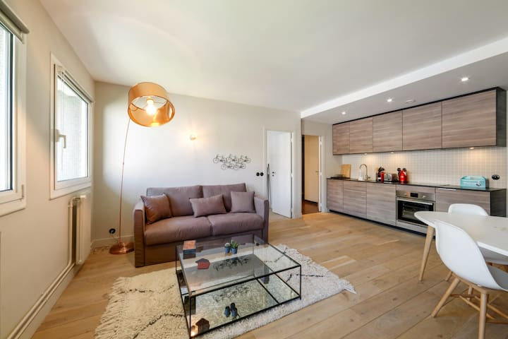 Beautiful 4p apartment near Eiffel Tower
