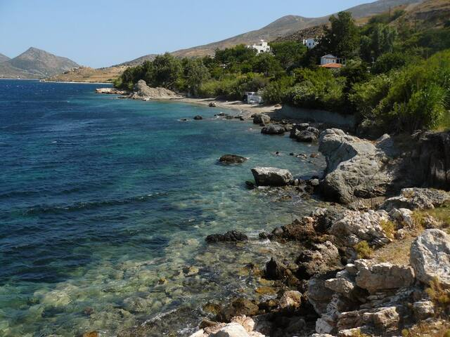 Nyfi villa 1 with private beach - Nifi - House