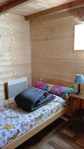 Chambre dans maison de Village à Auzat