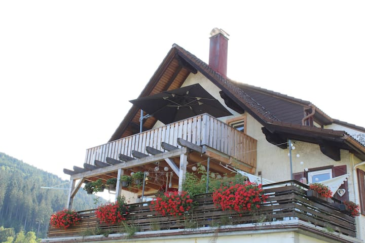 Picturesque Apartment in Baiersbronn with Bar