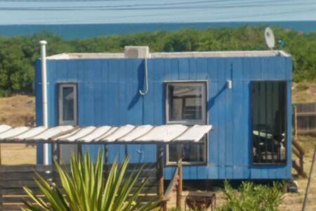 casita Azul calida y a metros playa - La Paloma - Haus