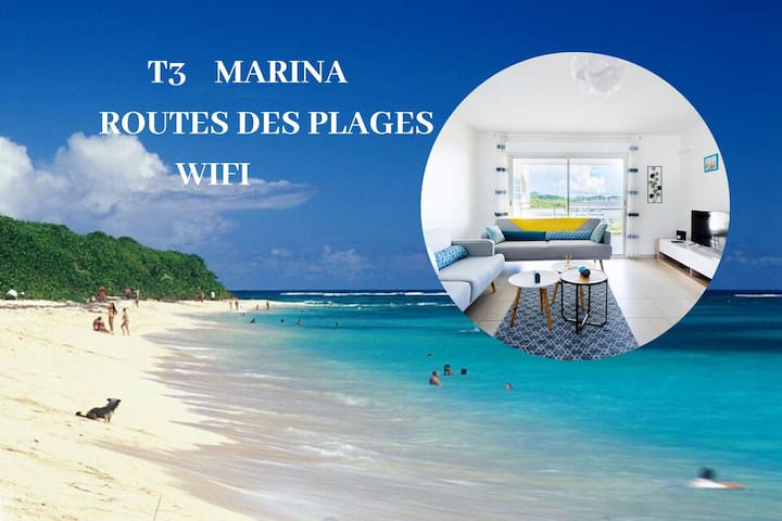 OCEANE/route des plages/Marina/wifi