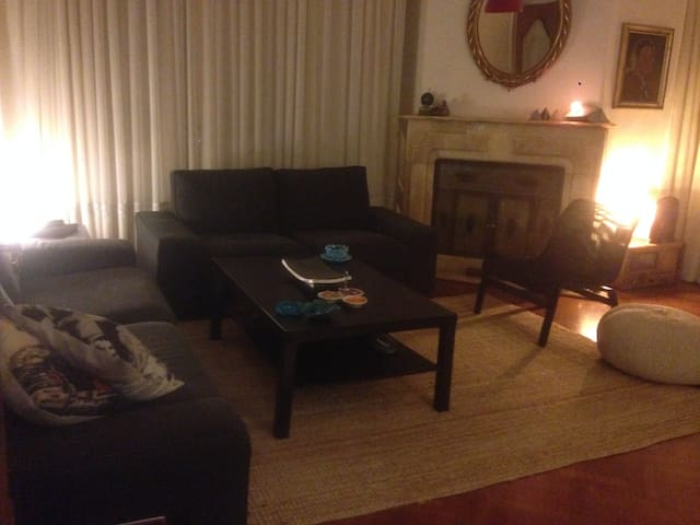 centrally located,close to embassies,private room