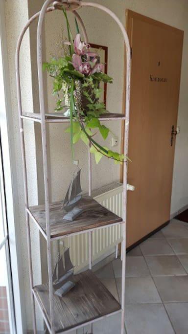 Eingang Wohnung Kormoran