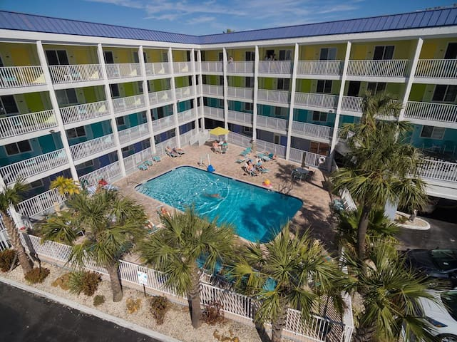 Affordable Efficiency in the Heart of Clearwater Beach #220 - Best Rate on the Beach!