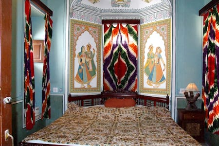 Traditional Heritage Room With Open Art Gallery - Mandawa - Villa
