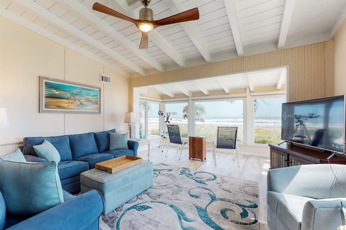 Dog-Friendly, Oceanfront Home With Beach Access