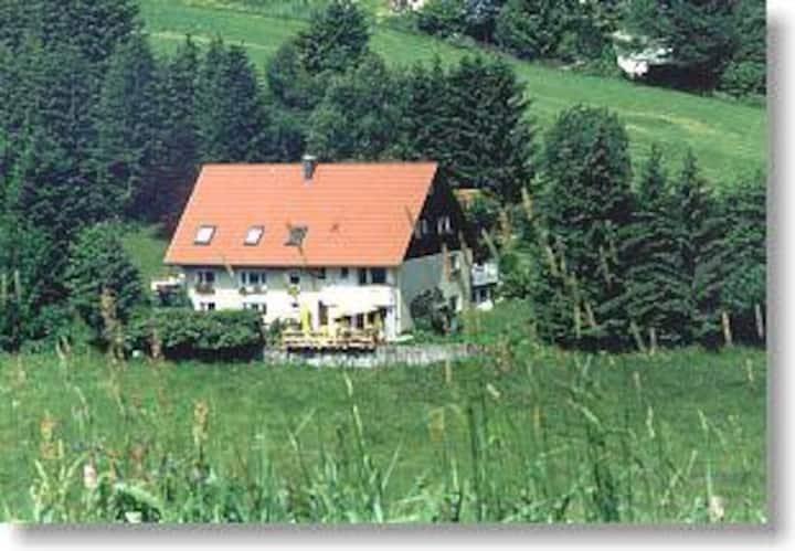 Hornihäusle, (Schönwald), Doppelzimmer mit WC/Dusche