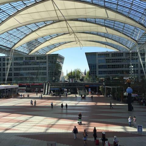 Your next maybe at Munich Franz Josef Strauss Airport (MUC) / Dein nächster vielleicht am Flughafen München Franz Josef Strauss (MUC) ?