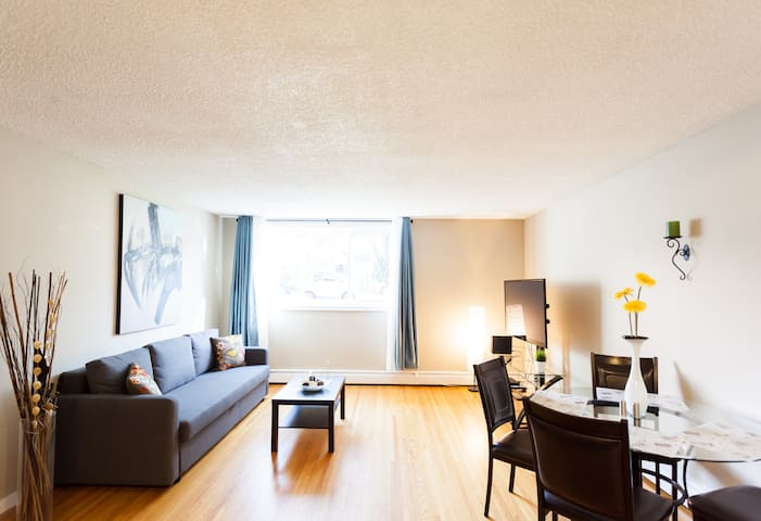 Beautiful 1Bdm Apartment in Mission Calgary! # 3 - Calgary