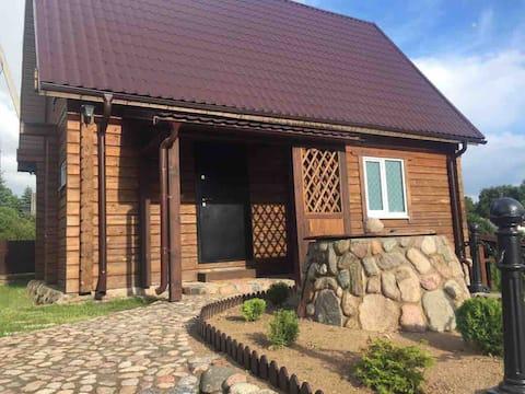 Dream house at the lake Naroch/Дом у озера Нарочь