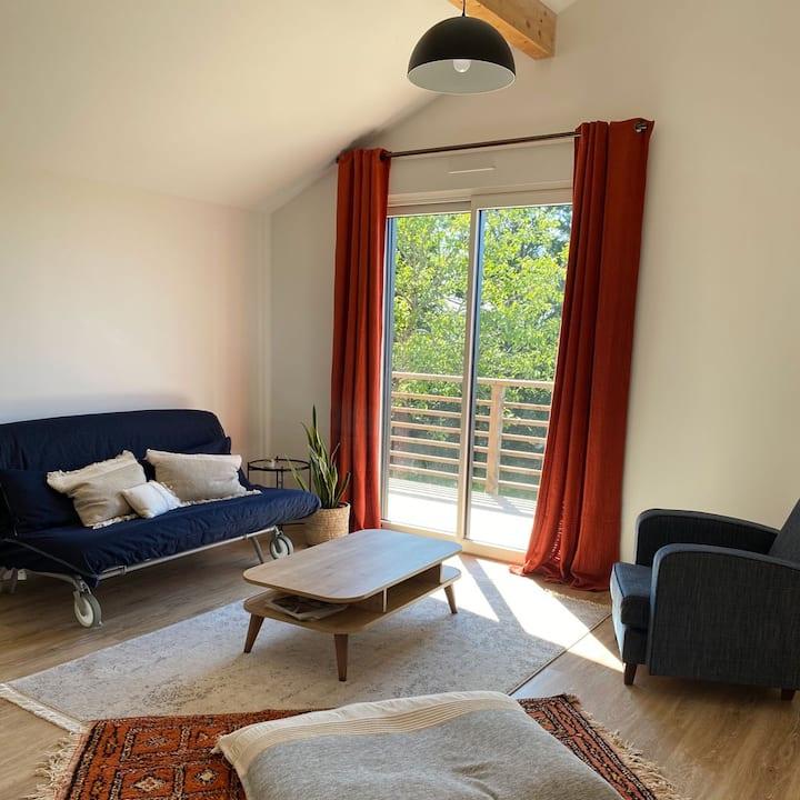 Appartement lumineux, calme, vue magnifique