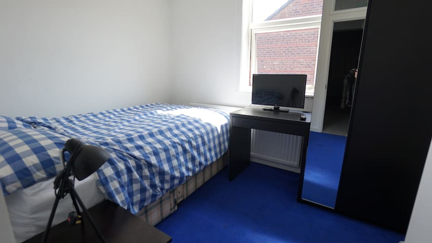 Cosy Double Room Nr. Media City Salford/Manchester