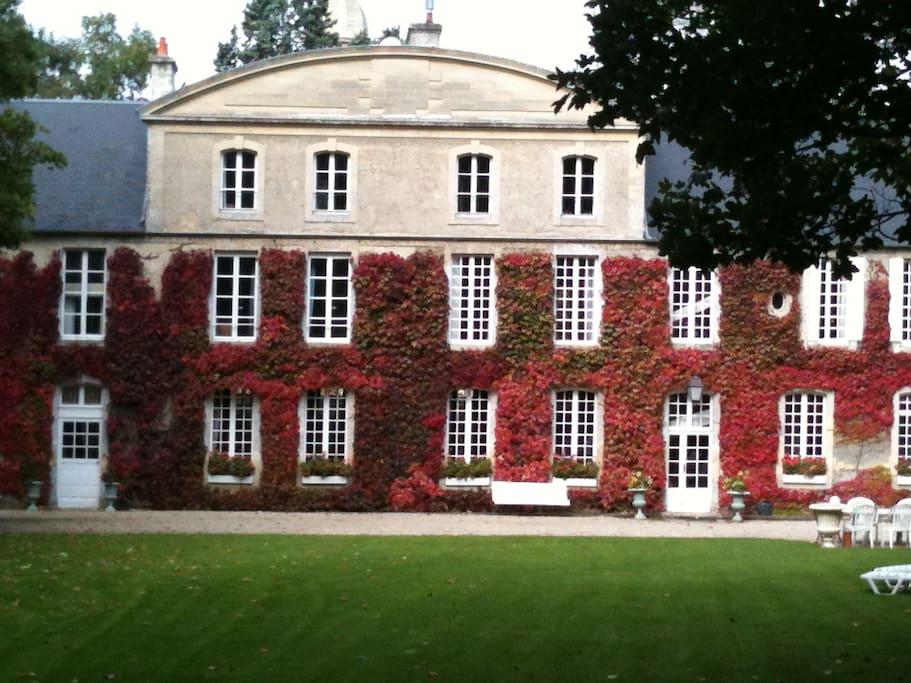 Le Manoir en automne