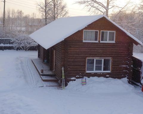 Семейный уютный дом Черничный