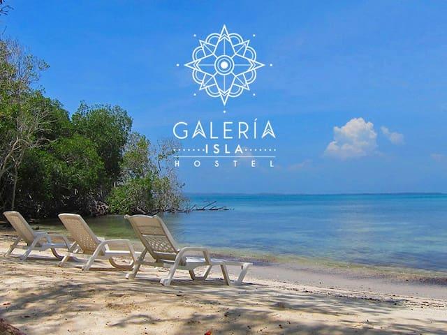 Galería Isla Ecohostel - Sucre - Остров