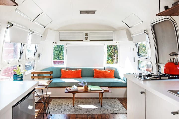 Hilltop Airstream Retreat with Gorgeous Views