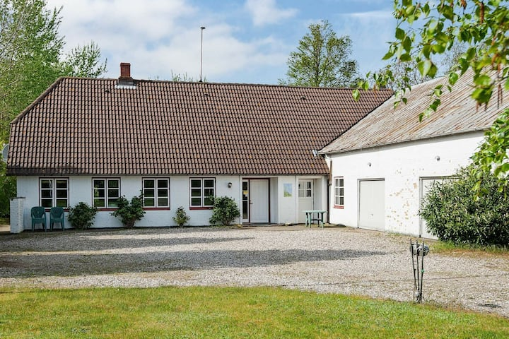 Colonial Holiday Home in Nordborg with Garden