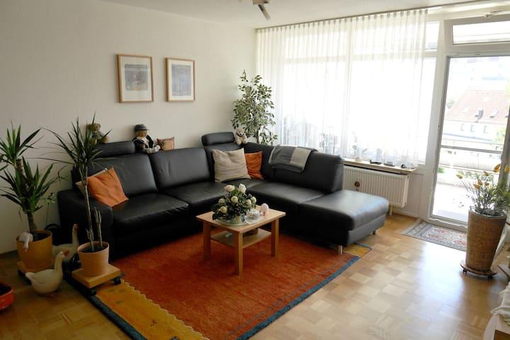 Fully equipped 1-bedroom flat near Ulm/Neu-Ulm