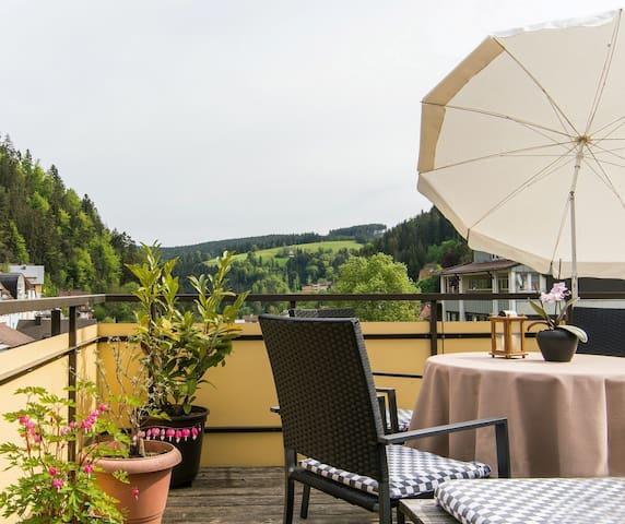 Zentral gelegen und doch ruhig - Triberg - Condominium