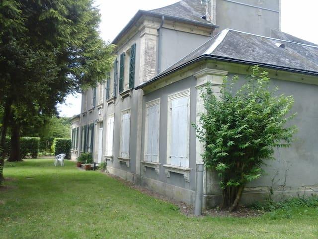 La Blanche - Wohnung in renoviertem Herrenhaus - La Cambe - Daire