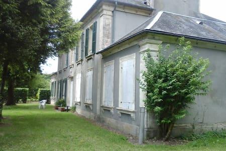 La Blanche - Wohnung in renoviertem Herrenhaus - La Cambe - Pis