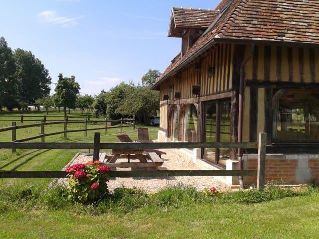 Maison de campagne en Normandie - Bonnebosq - Casa