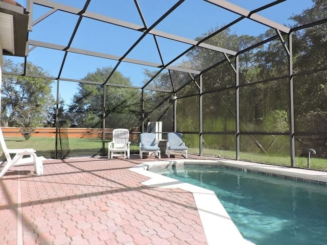 Ref 05BV. Stunning home with private South facing pool.