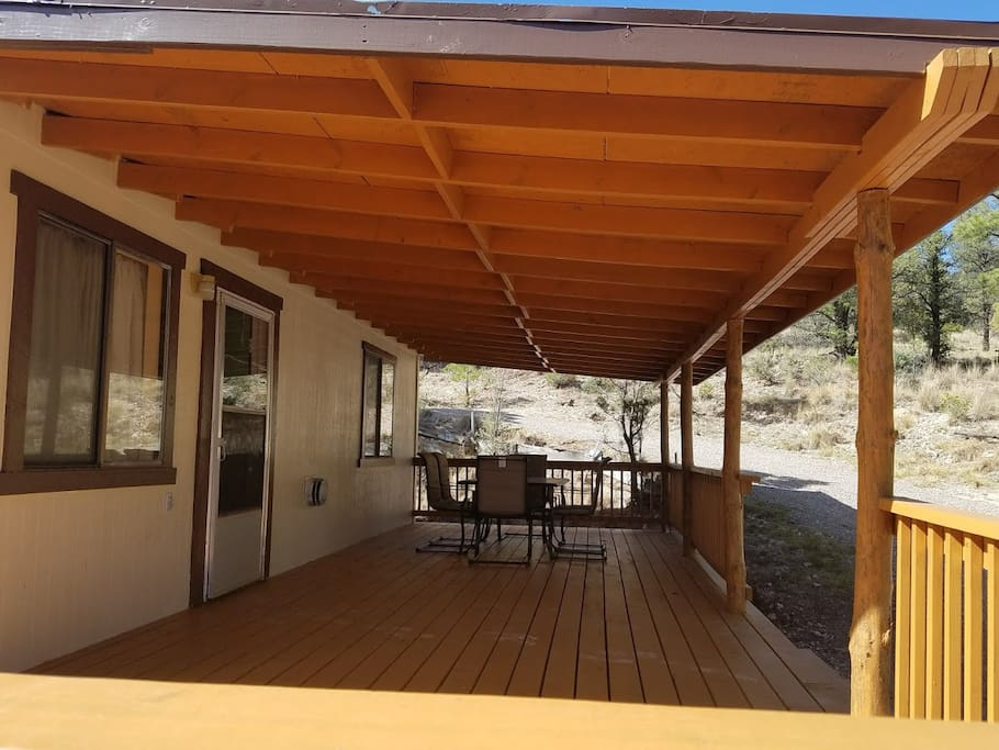 Big Covered Deck. Enjoy the outdoor space